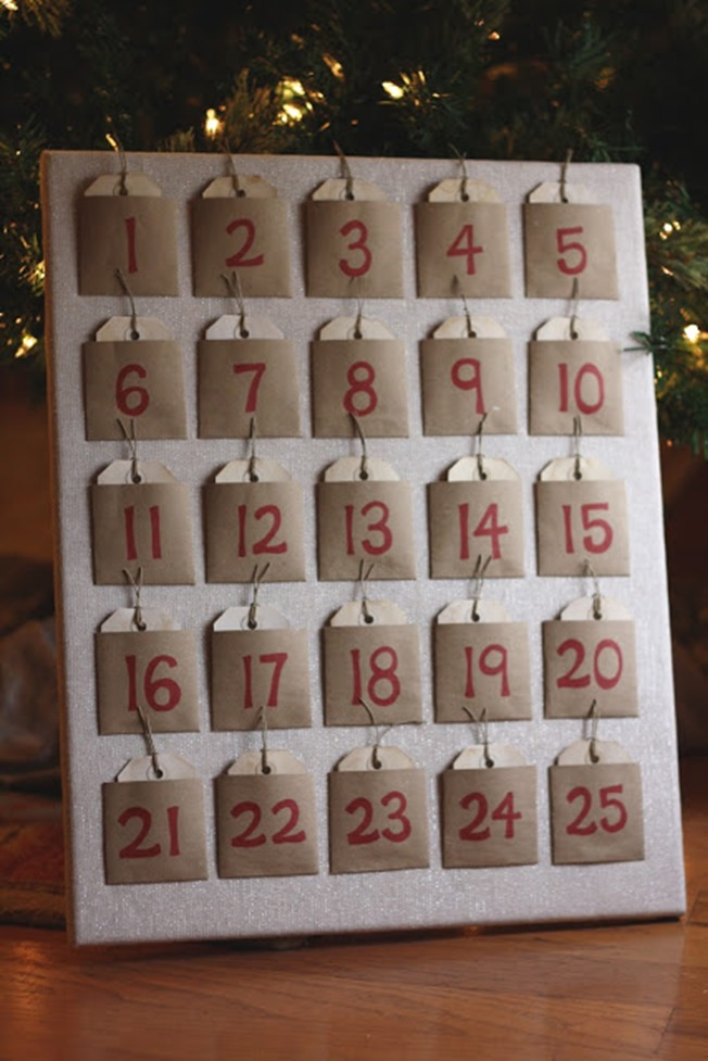 Advent calendar canvas