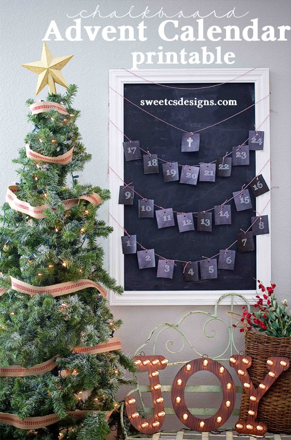 Chalkboard-Advent-Calendar-Printable-at-sweetcsdesigns