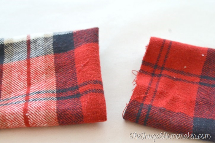 DIY Infinity Scarf - easy under $5 homemade gift idea