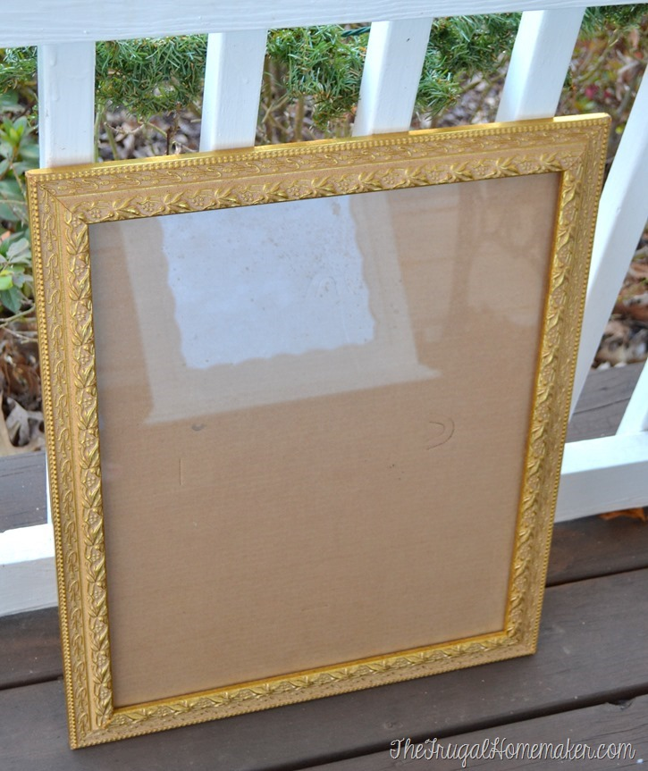 yard sale frame