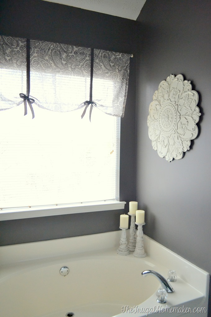 Master Bathroom Budget Makeover