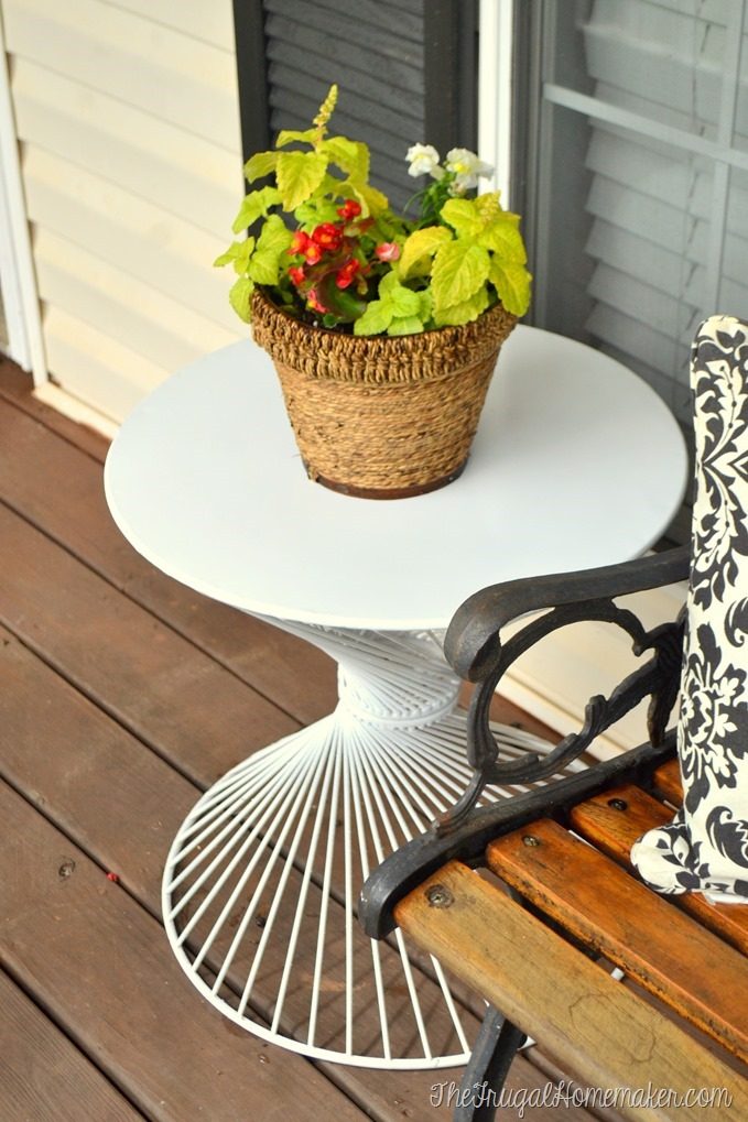 Sprucing up the outdoors for Spring with spray paint