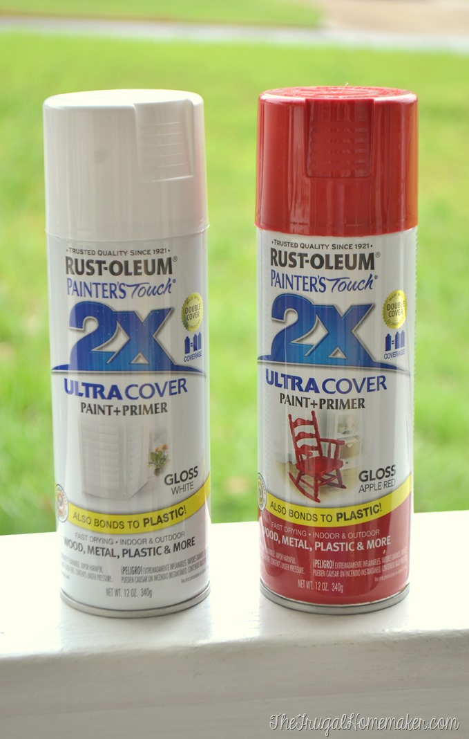 Rustoleum Painter's Touch spray paint