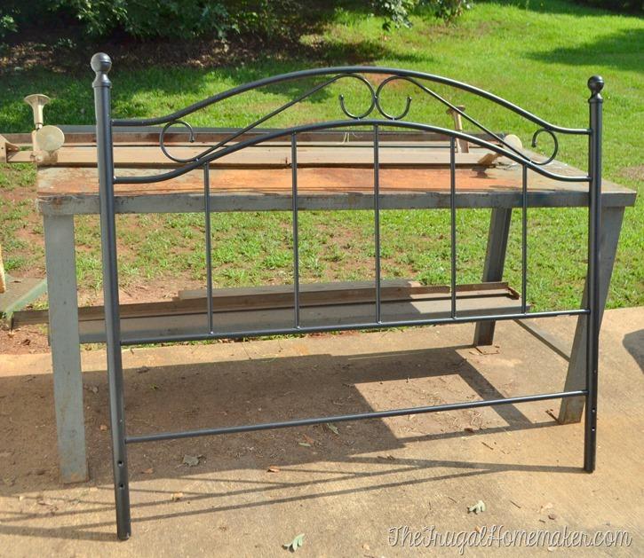yard sale bench