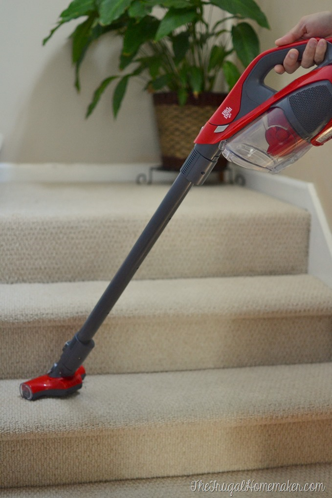 Establishing a Daily Cleaning Routine (My Easy Cleaning Schedule) with the Dirt Devil 360° Reach vacuum