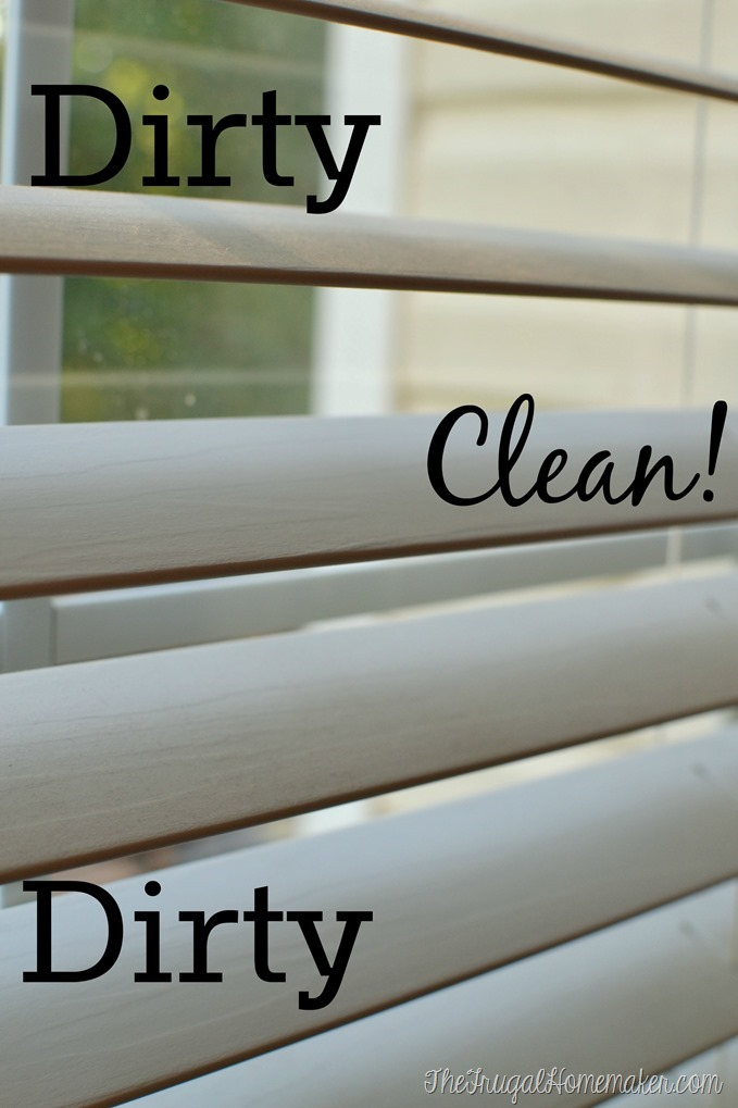 clean and dirty blinds
