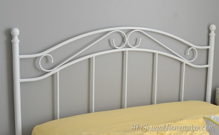New headboard for the guest bedroom