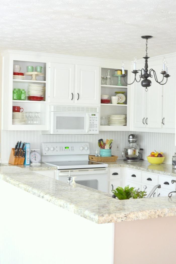Farmhouse Budget Kitchen Makeover