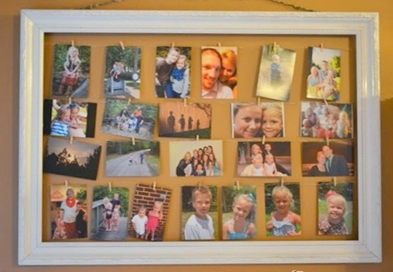 Display Family Memories (31 days to Love the Home You Have)