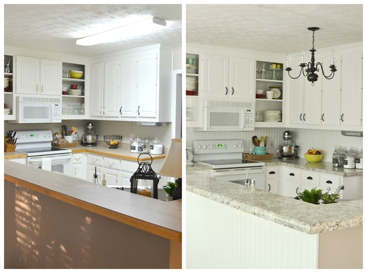 kitchen beforeafter