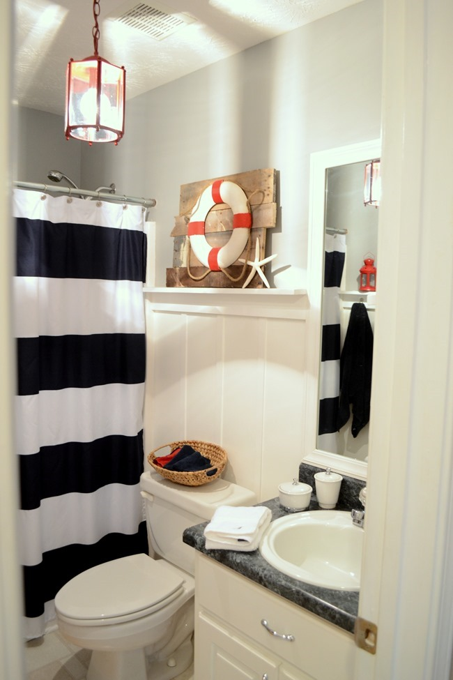 Guest bathroom refresh