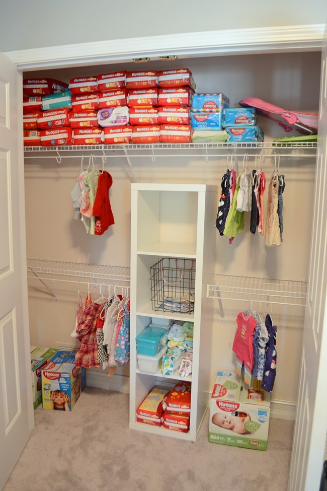 diy nursery closet organization 87365