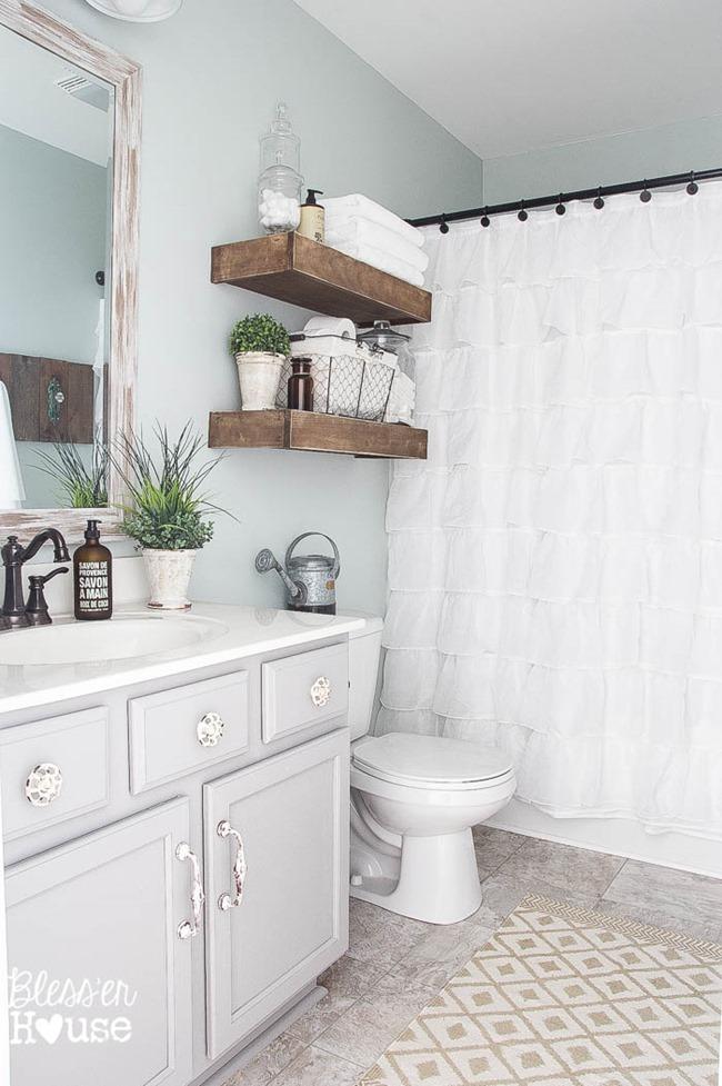 BlesserHouse farmhouse bathroom