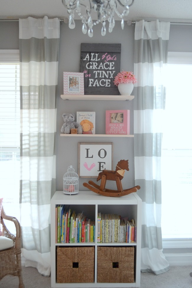 How to make easy + cheap floating shelves