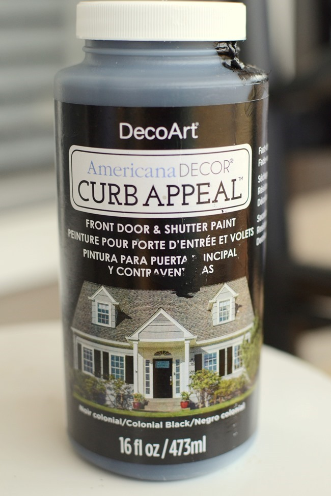 Americana Decor Curb Appeal paint
