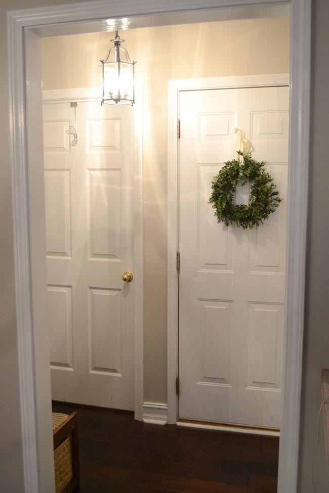 Hallway-mudroom before
