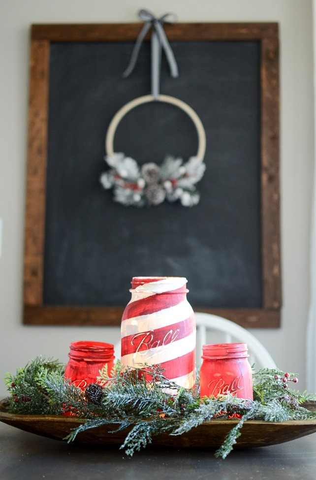 DIY Christmas Hoop Wreath-5