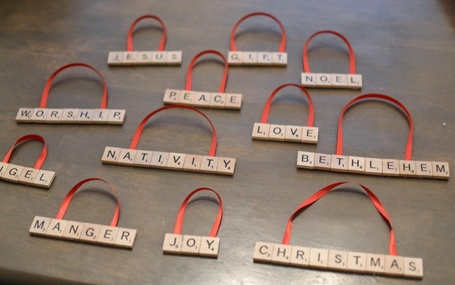 DIY Scrabble Letter Ornaments-3