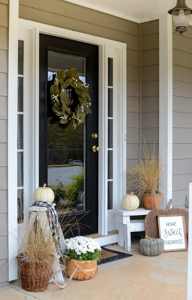 Farmhouse Fall Front Porch-13