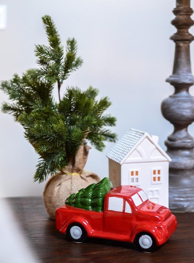 Buffalo Check Inspired Christmas Living Room-33