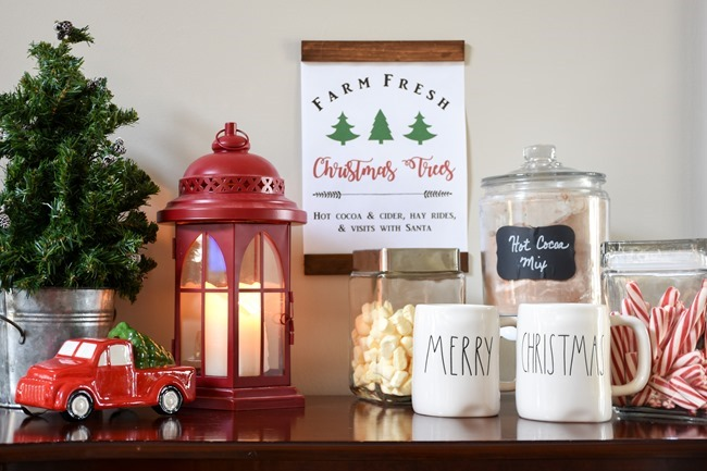 Christmas printable with DIY wood frame (6 of 7)