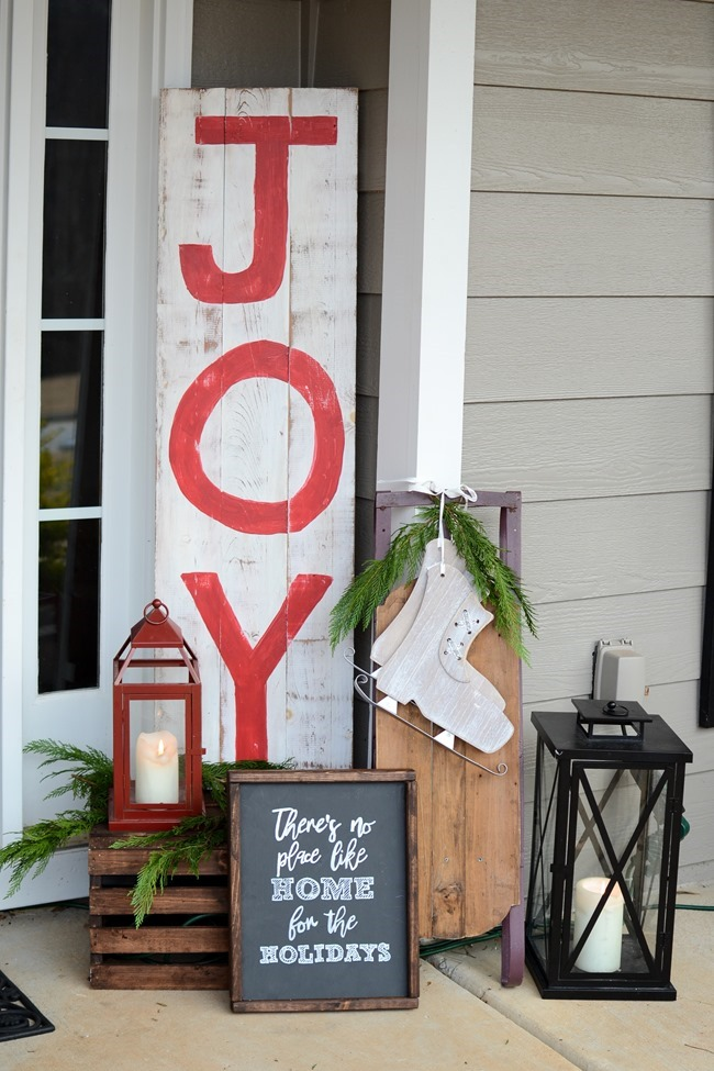 DIY Christmas wood sign-10