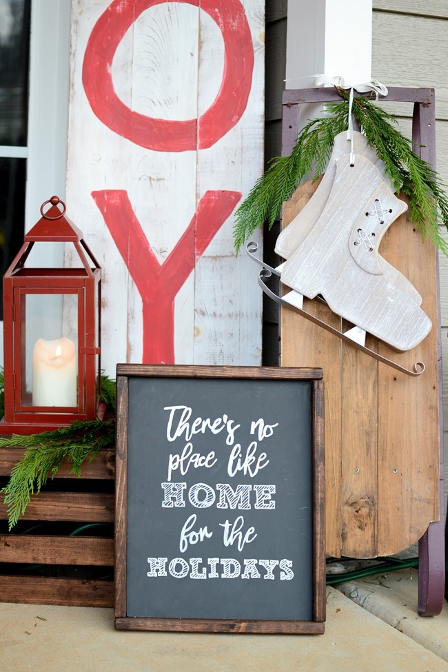 DIY Christmas wood sign-12