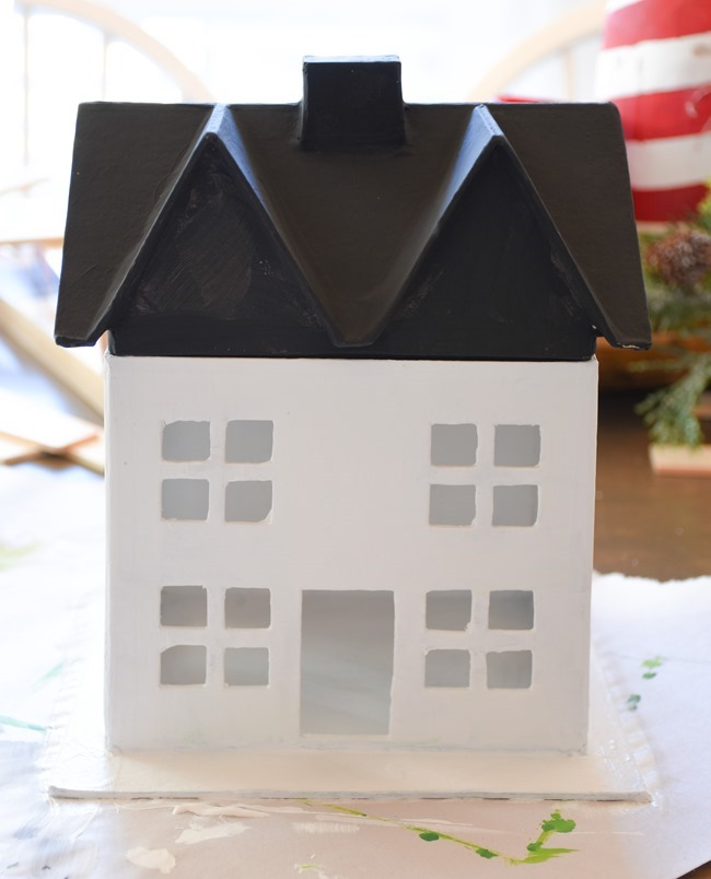 DIY Snowy Christmas Farmhouse_-2