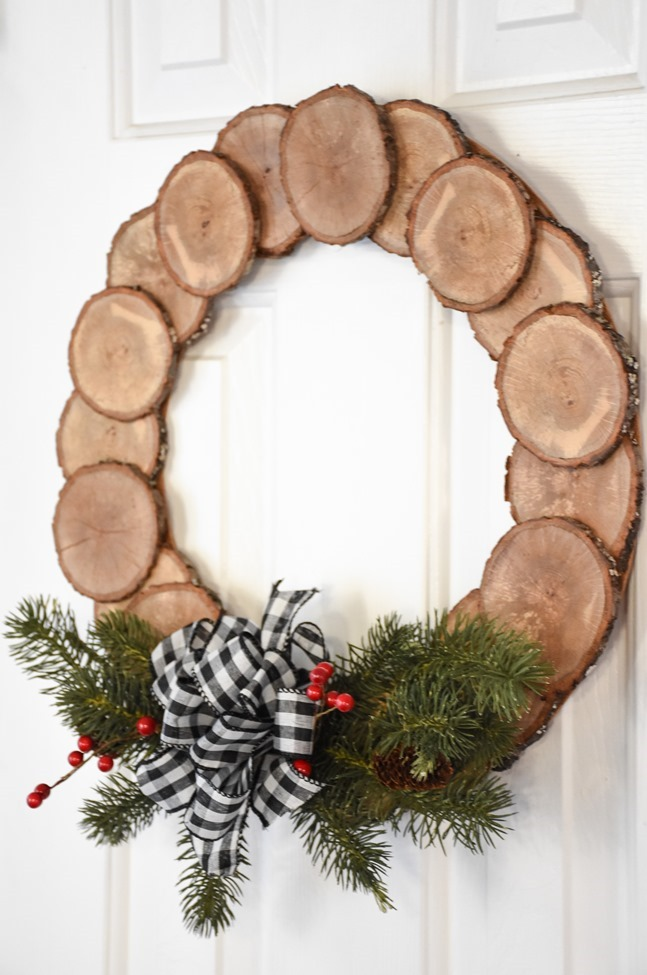 DIY Wood Slice Wreath (4 of 11)