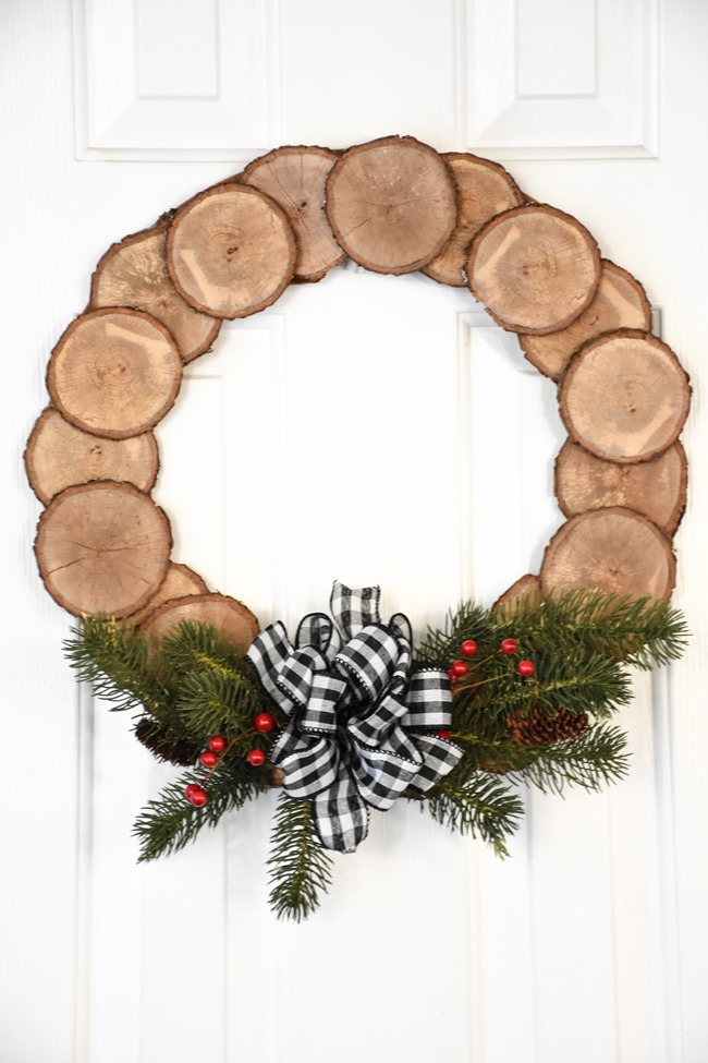 DIY Wood Slice Wreath (5 of 11)