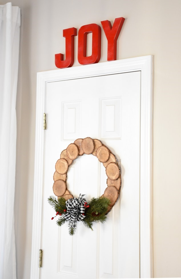 DIY Wood Slice Wreath (7 of 11)