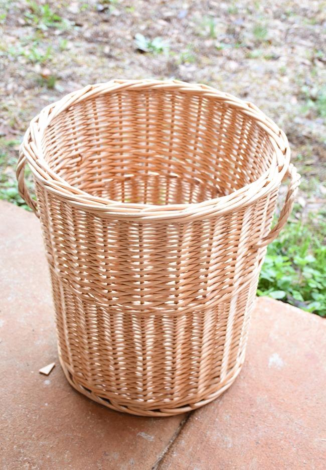 basket before