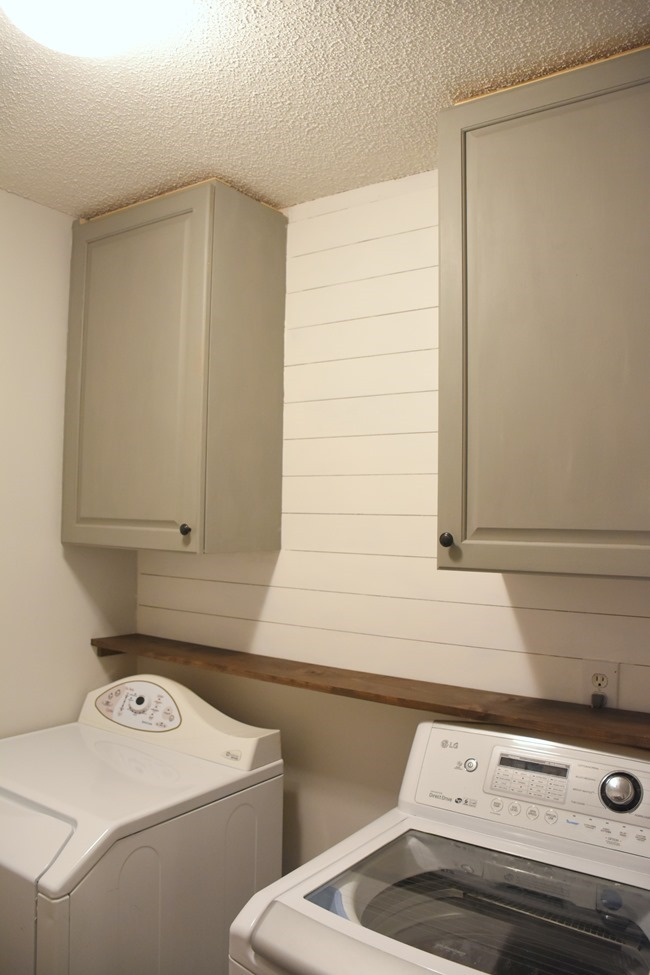 Cabinets And Shiplap In The Laundry Room 100 Room
