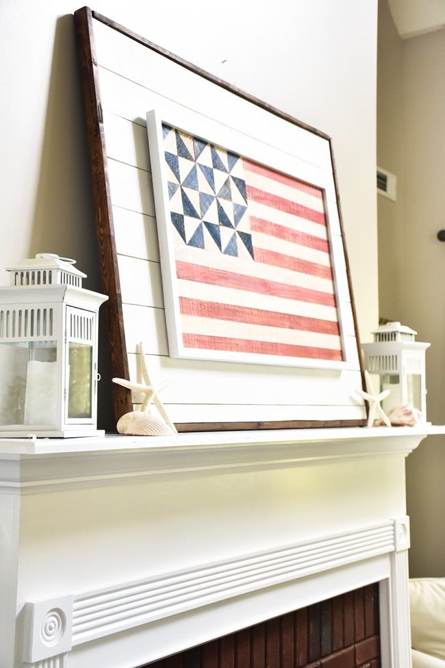 Patriotic Coastal Mantel (1 of 1)
