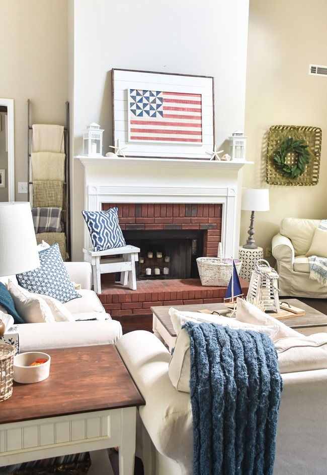 Patriotic Coastal Mantel (7 of 11)