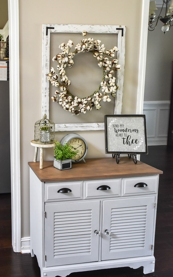 Farmhouse or Coastal Style Entryway Cabinet Makeover (3 of 16)