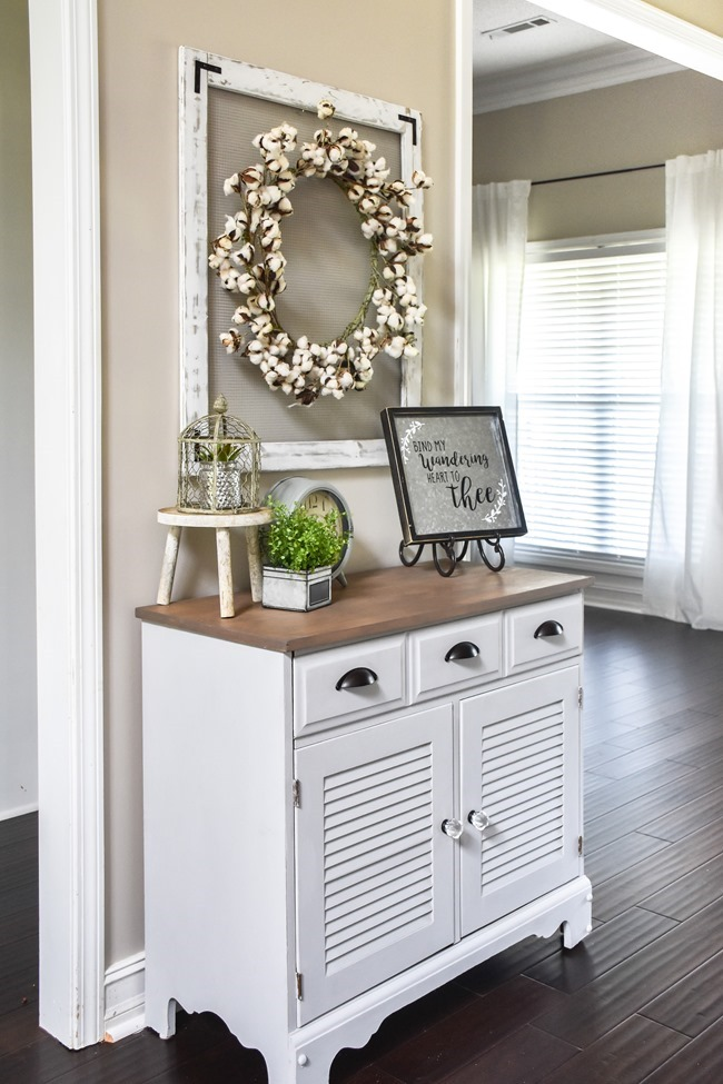 Farmhouse or Coastal Style Entryway Cabinet Makeover (6 of 16)