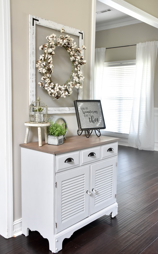 Farmhouse or Coastal Style Entryway Cabinet Makeover (7 of 16)