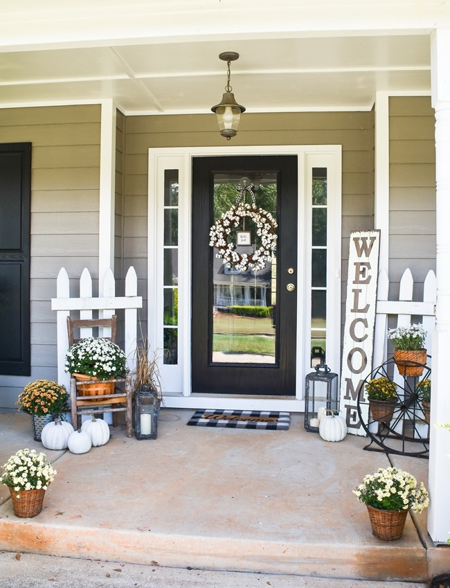 Cozy and Neutral Farmhouse Fall Tour (15 of 35)