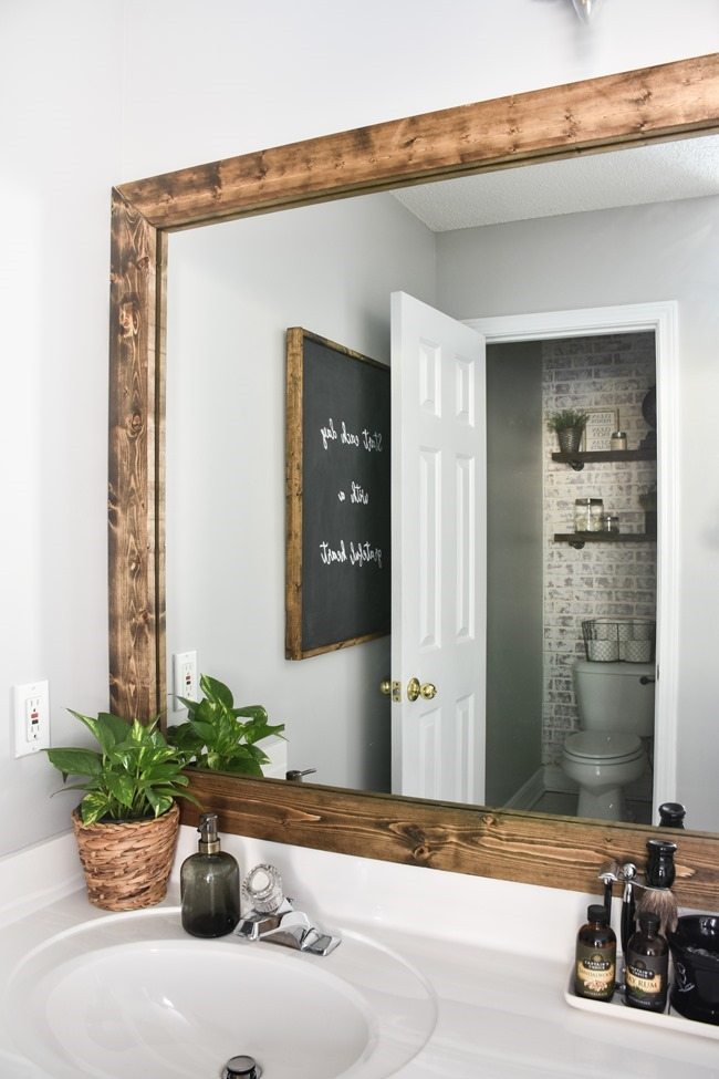 Farmhouse Master Bathroom Makeover done for $100! (20 of 31)