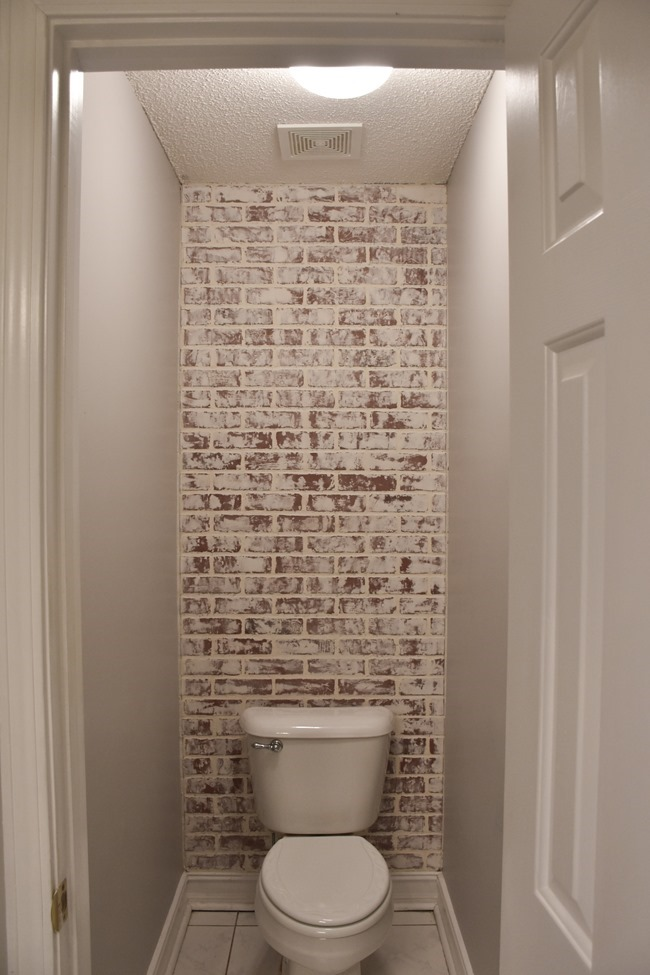 DIY Faux German Schmear Brick Wall (4 of 15)