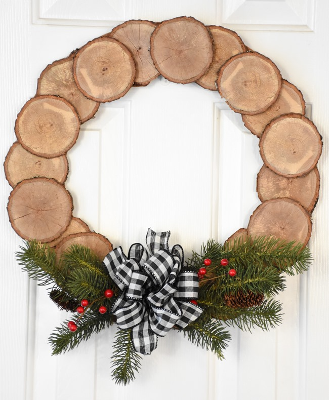 DIY Wood Slice Wreath (9 of 11)