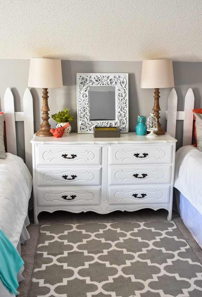 Girls cottage themed bedroom and playroom makeover-20
