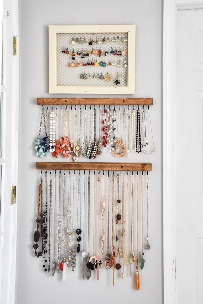 DIY Farmhouse Style Jewelry Organization-2