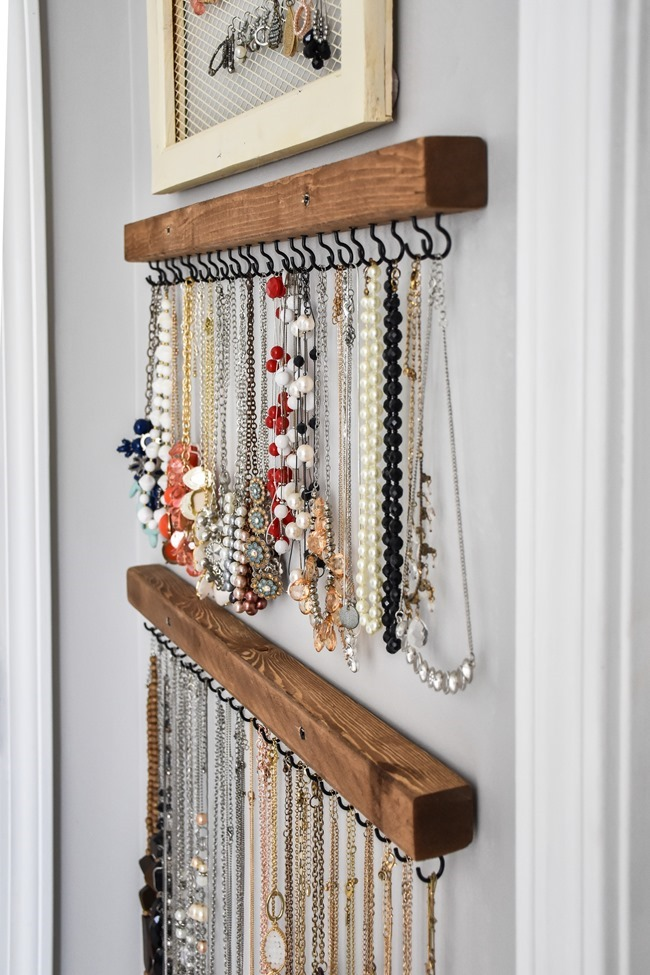 DIY Farmhouse Style Jewelry Organization-6