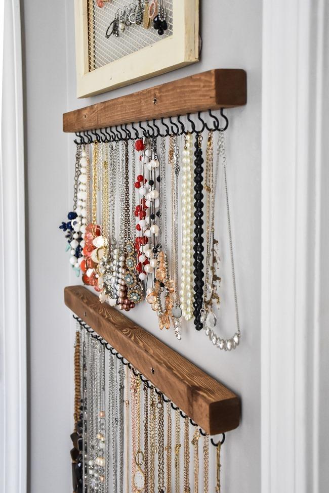 DIY Farmhouse Style Jewelry Organization-6