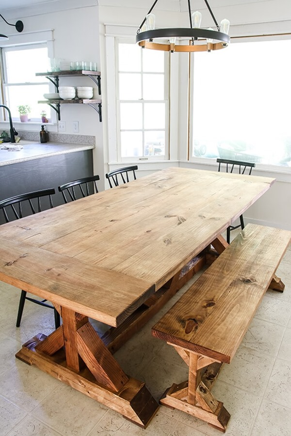 DIY-Restoration-Hardware-Inspired-Farmhouse-Table-27
