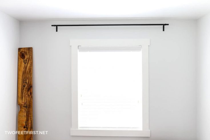 DIY Curtain Rods and Brackets