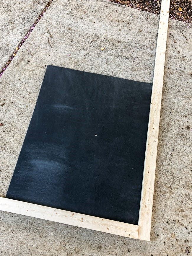 How to make a large DIY chalkboard-5