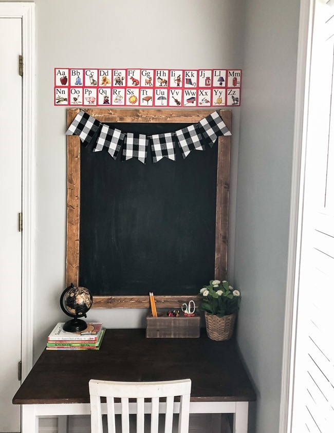 How to make a large DIY chalkboard-6